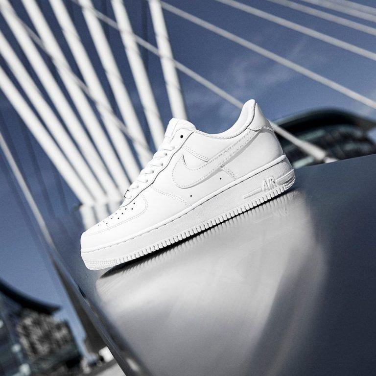 Nike Air Force 1 tenisky biele low