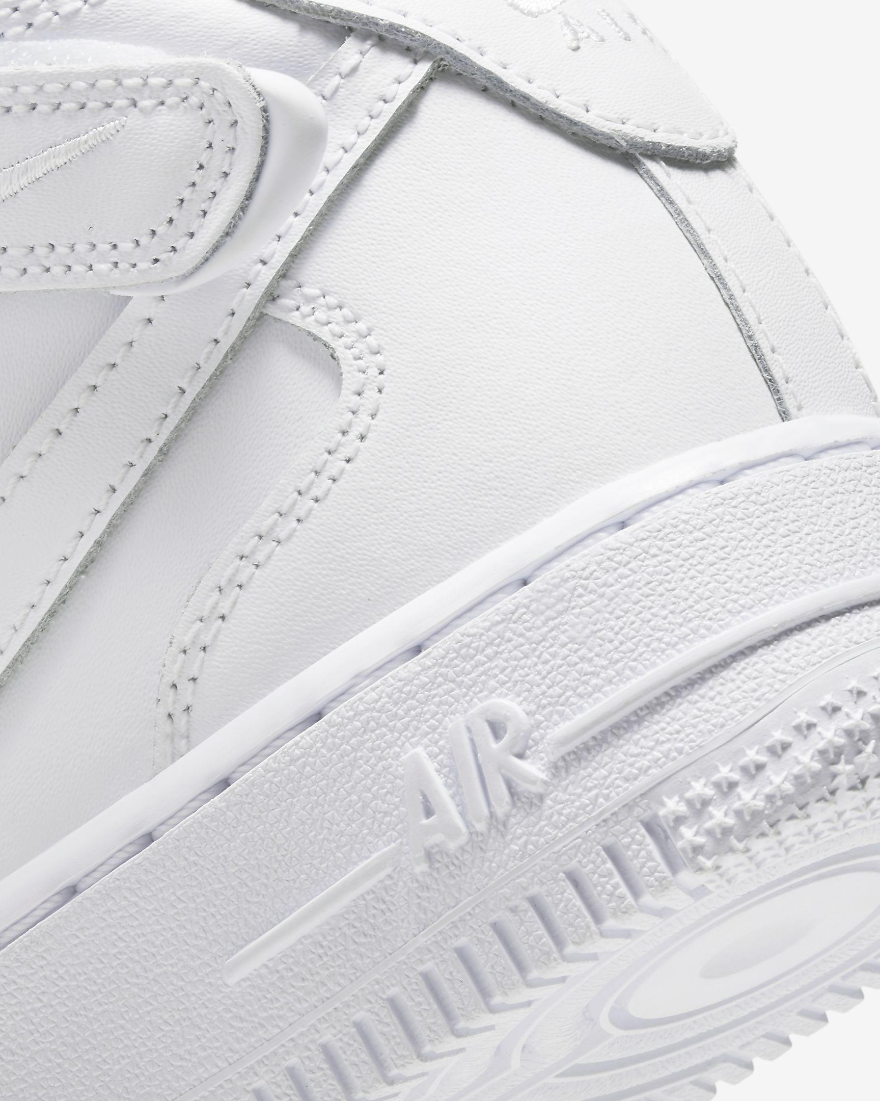 Tenisky Nike Air Force 1 Mid Biele-WWW.AIRFORCE.SK