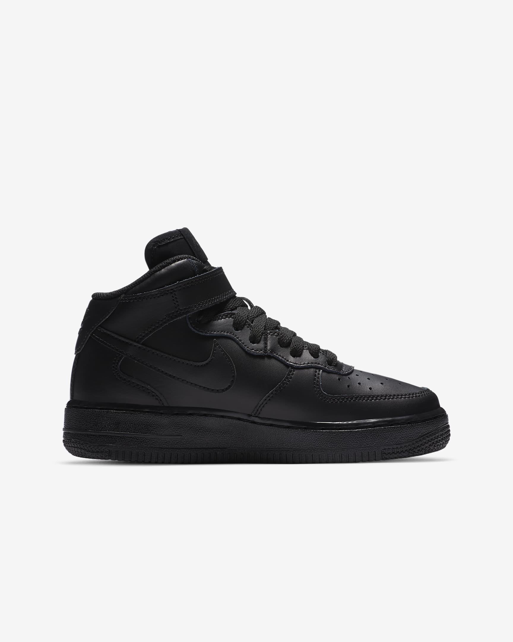 Tenisky Nike Air Force 1 Mid Čierne-WWW.AIRFORCE.SK