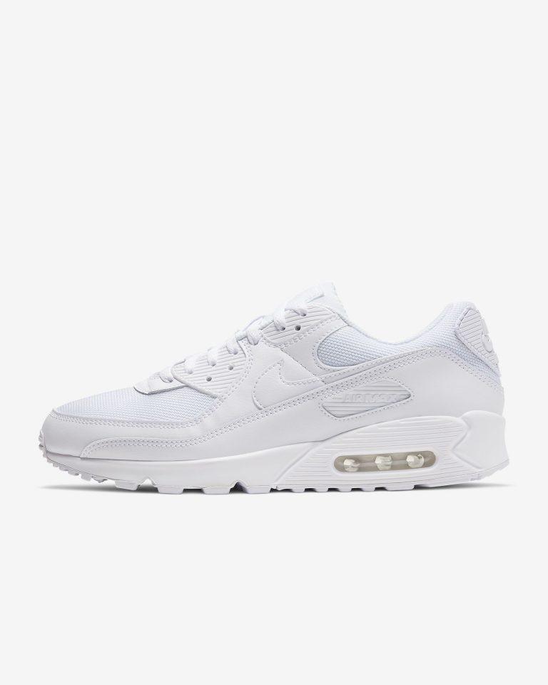 Tenisky Nike Air Max 90 Essential Látkové Biele-WWW.AIRFORCE.SK