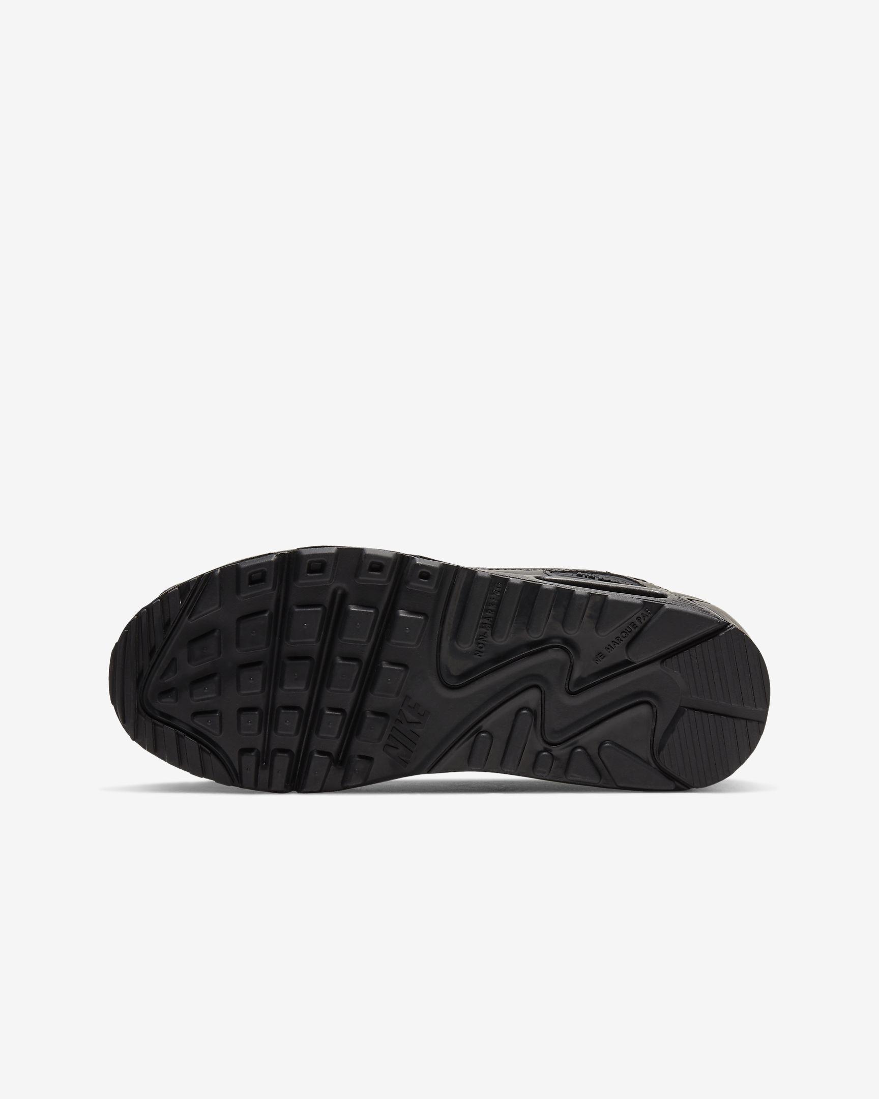 Tenisky Nike Air Max 90 Kožené Čierne-WWW.AIRFORCE.SK
